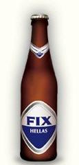 Ξανθιά μπύρα Fix Lager άριστης ποιότητας