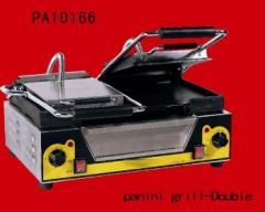Τοστιερα (PA 10166) διπλή, ραβδωτή, ηλεκτρική