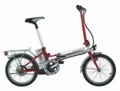 Ελαφρυτερο σπαστο ποδηλατο με ηλεκτρικη