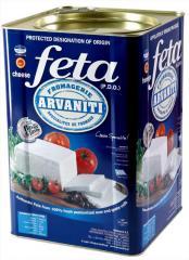 Η Φέτα ΑΡΒΑΝΙΤΗ από φρέσκο αιγοπρόβειο γάλα