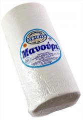 Λευκό παραδοσιακό μαλακό τυρί Μανούρι Π.Ο.Π