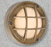 Στεγανά Φωτιστικά με LEDs Tondo 2 Brass LED
