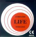 Ανατομικό προφυλακτικό με λιπαντική επίστρωση