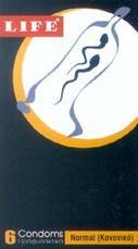 Ανατομικό προφυλακτικό Life Κανονικό (Συσκευασία των 6)