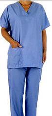 Στολές για νοσοκομείο και νοσοκομειακά είδη
