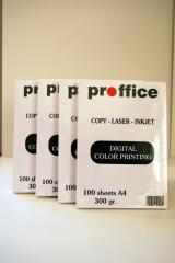 Χαρτί Εκτύπωσης Proffice 300gr