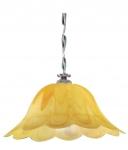 Γυαλι Νο 309 Φ40 Αλαβαστρινο Κιτρινο Ματ