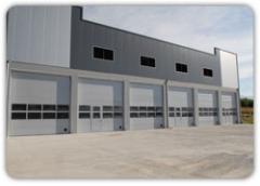 Πολύσπαστη Βιομηχανική Πόρτα χωρίς Ελατήρια