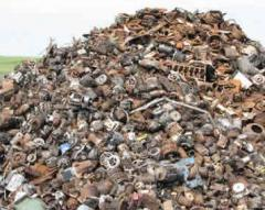 Scrap, screenings, ferrous metals