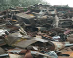 Scrap metal, wastes, stainless steel