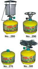 Travel gas cylinders