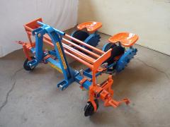 Φυτευτική μηχανή δύο σειρών
