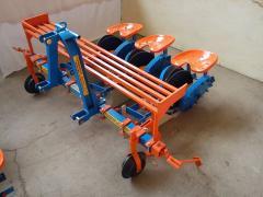 Φυτευτική Μηχανή τριών σειρών