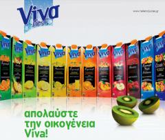 Fresh fruit juices VIVA