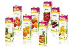 Fruit juices BELO