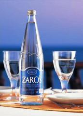 Natural mineral water 1lt (glass) ZARO'S