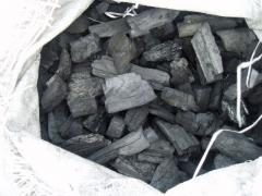 Ξυλοκάρβουνο σε σακούλες των 15kg πολυπροπυλενίου