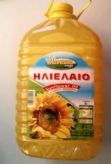 Agrotyp refined Sunflower oil in 5 lt and 1 lt