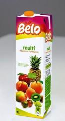 Natural juice Multi (9 fruits) lt