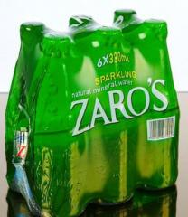 Carbonated  mineral water 0.33 lt