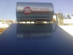 Ηλιακος Θερμοσιφωνας Glass 120lt- Οικονομικη