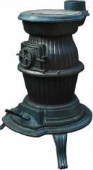 Θερμάστρα Ξύλου Στρογγυλή από Μαντέμι 119
