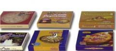 Κουτιά πίτσας σε διάφορα σχέδια και μεγέθη