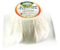 Λευκό και μαλακό τυρί Ανθότυρο νωπό