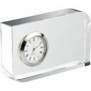 Διαφημιστικό ρολόι επιτραπέζιο κρυστάλλινο