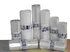 Διαφανείς σακούλες LDPE σε ρολό
