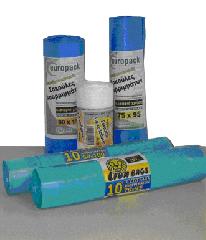 Σάκοι απορριμμάτων με κορδόνι για ελαφριά χρήση