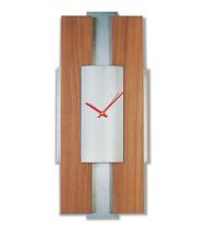 Επιτοίχιο ρολόϊ από ξύλο και αλουμίνιο OR1019