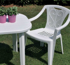 Furniture plastic