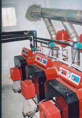 Λέβητες νερού πετρελαίου - αερίου τύπος