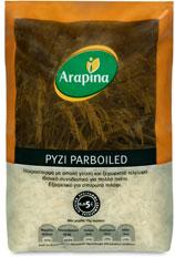 Ρύζι Parboiled  σε συσκευασίες 500 g και 5 Kg