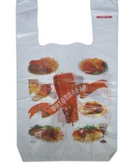 Νάυλον τσάντες για ψητοπωλεία σχέδιο 2