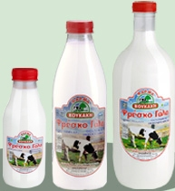 Αγνό φρέσκο αγελαδινό, παστεριωμένο, ομογενοποιημένο πλήρες γάλα,