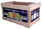 Ξυλοκιβώτια Ξύλο Λεύκηςγια μηλα, κυδώνια