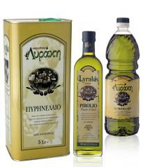 Πυρηνέλαιο καλλης ποιότητα από ελληνικό παραγωγό