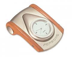 Επιτραπέζιο ρολόι μέταλλο - ξύλο