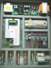 Diomidis elevator control cabinet