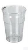 Διαφανές Ποτήρι ΡΕΤ Κρύου Ροφήματος