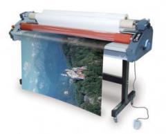 Πλαστικοποιητής ρολλού ψυχρής με σύστημα Take Up