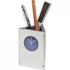 Ρολόι / Μολυβοθήκη με δύο θέσεις για φωτογραφίες