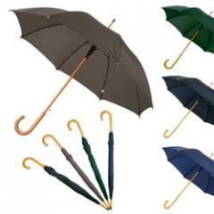 Ομπρέλα χειρός με ξύλινο χερούλι