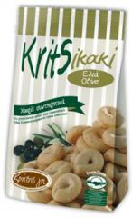 Κritsikaki με ελιά,  με κρεμμύδι, με τομάτα, με