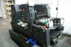 Εκτυπωτικές μηχανές Heidelberg 2-colour offsetpress GTOZ 52+