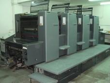 Εκτυπωτικές μηχανές  Heidelberg SM 74 - 4