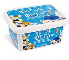 Hotos Feta cheese from 100% fresh pasteurized
