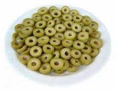 Πράσινες ελιές Χαλκιδικής ροδέλες / μεγάλες